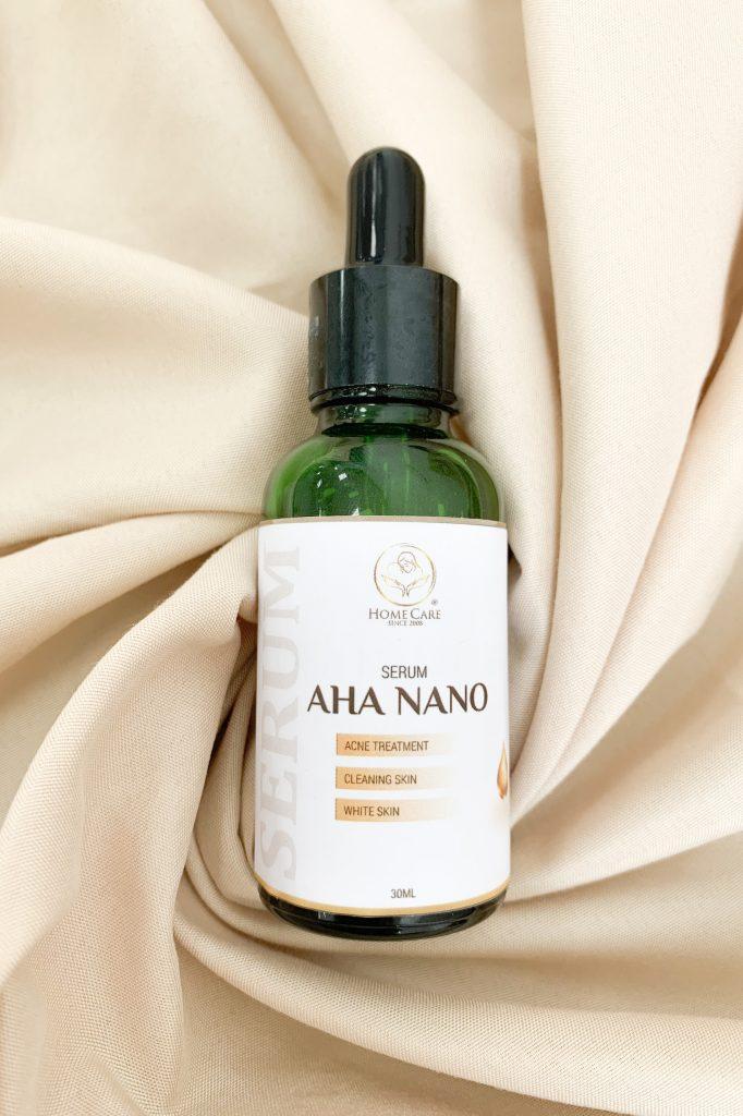 Serum nano AHA dưỡng da mỗi ngày