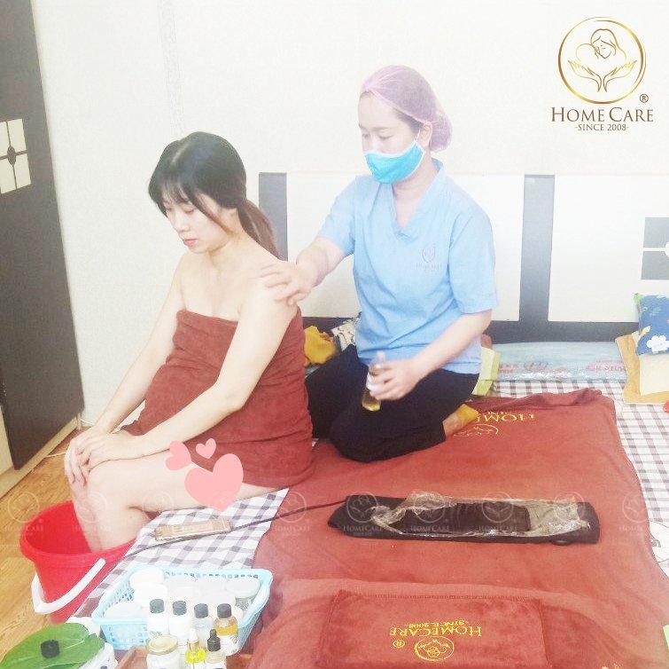 Hướng dẫn massage tại nhà cho mẹ bầu