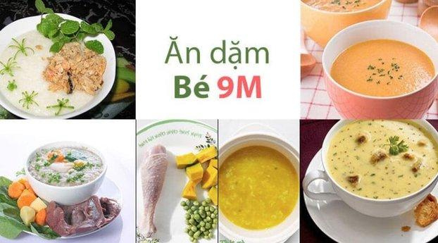 thuc don an dam dam bao dinh duong cho tre